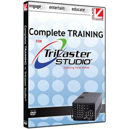 Class On Demand Training DVD, Complete Training for NewTek Tricaster Studio