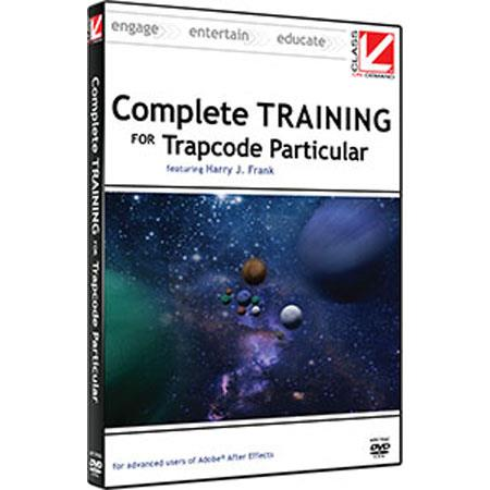 Class On Demand Training DVD, Complete Training for Red Giant Trapcode Particular with Harry Frank