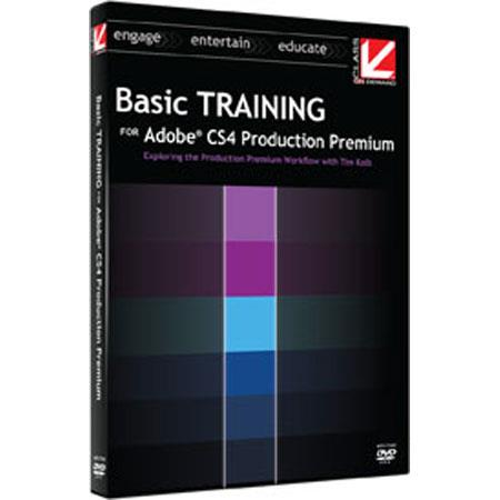 Class On Demand Training DVD, Basic Training for Adobe CS4 Production Premium 2009