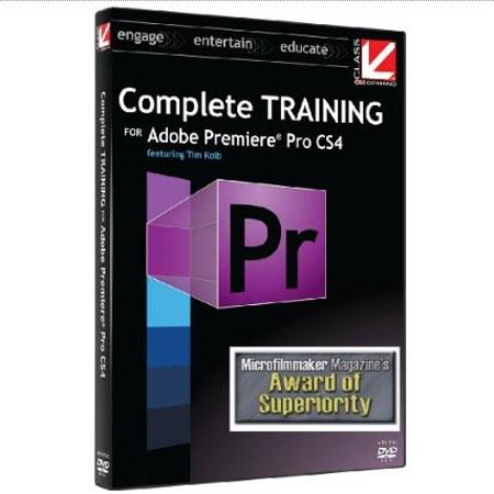 Class On Demand Training DVD, Complete Training for Adobe Premiere Pro CS4 2009