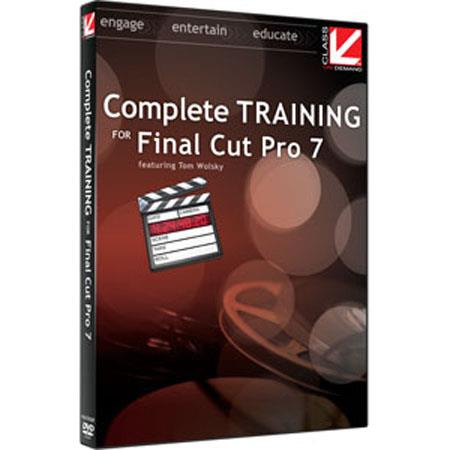 Class On Demand Training DVD, Complete Training for Final Cut Pro 7