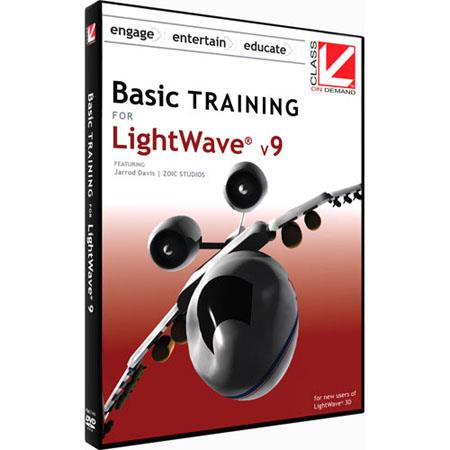Class On Demand Training DVD Basic Training for Lightwave 9 for Beginners with Jerrod Davis