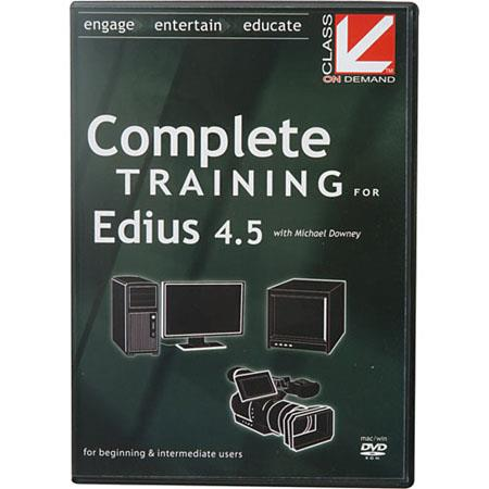 Class On Demand Training DVD Complete Training for Canopus Edius 4.5 with Mike Downey