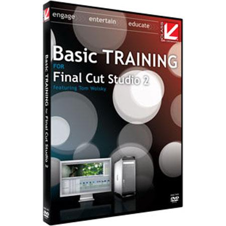 Class On Demand Training DVD Basic Training for Apple Final Cut Studio 2
