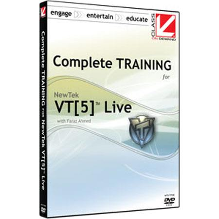 Class On Demand Training DVD Complete Training for NewTek VT5 (Includes Complete Training for Speed Edit)