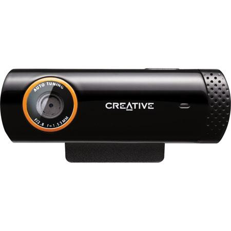 Creative Live Cam 73VF064000000 Socialize Webcam, Hi-Speed USB 2.0