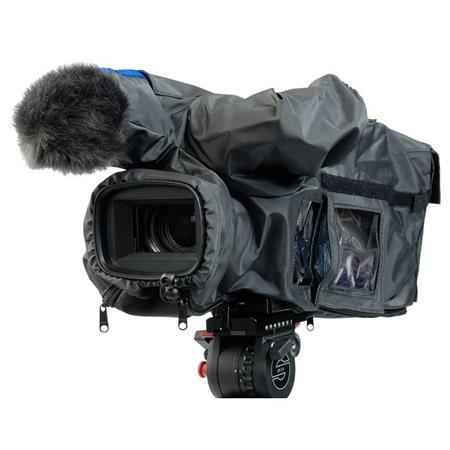 CamRade wetSuit Waterproof PVC Rain Cover for JVC GY-HM700/710/750/790/850/890 ProHD Handheld Camcorder