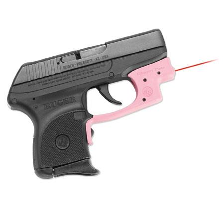 Crimson Trace LG-431 LaserGuard Red Laser Sight for Ruger LCP Handguns, Pink