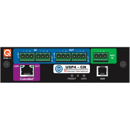 Crown Audio PIP-USP4 DSP-Based PIP Input Module for CTs Series Two Channel Amplifiers