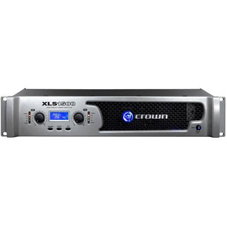 Crown XLS1500 High Performance, Lightweight Drive Core Amplifier with Integrated PureBand Crossover System image
