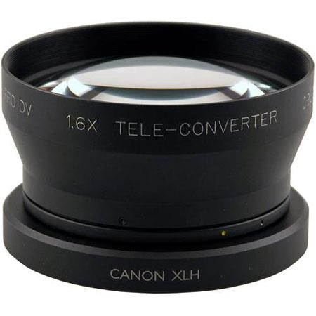 Century Optics 1.6x Tele Converter Auxiliary Lens for the Canon XH-A1/XH-G1/XL-H1 HD Camcorders With Bayonet Mount