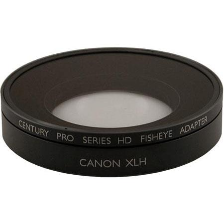 Century Optics 2.3mm Fisheye Auxiliary Lens for Canon XH-A1/XH-G1/XL-H1 HD Camcorders And Canon's 3x Wide Angle Lens, With Bayonet Mount