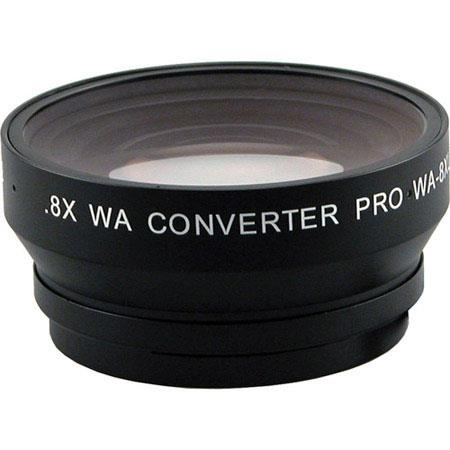 Century Optics 0.8x HD Wide Angle Converter for Canon XF300/XF305 Camcorders, Bayonet Mount