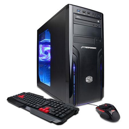 Discount Electronics On Sale CyberPowerPC Gamer Xtreme GXi640 Gaming Desktop Computer, Intel Pentium G3240 3.1GHz, 8GB RAM, 1TB HDD, AMD Radeon R7 250, Windows 8.1 (Free Upgrade to Win 10)