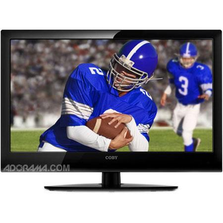 "Coby LEDTV2426 24"" ATSC Digital LED TV/Monitor with 1080p and HDMI Input image"