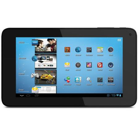 "Coby 7"" Android 4.0 ICS Capacitive Tablet, 1GHz ARM Cortex A5, 1GB RAM, 4GB HDD, 16:9 Widescreen, 802.11b/g/n Wi-Fi"