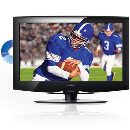 "Coby 18.5"" LCD ATSC Digital TV with 1000:1 Contrast Ratio, DVD Player and HDMI Input image"