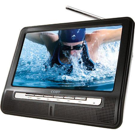 Coby TF-TV1091 10.2 inch Digital Portable Widescreen TFT LCD TV with ATSC/NTSC Tuner image