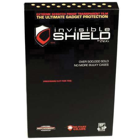ShieldZone invisibleSHIELD, Full Body Invisible Protection for the Apple iPod Touch MP3 Players image