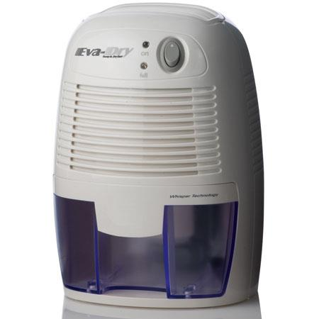 Eva Dry EDV-1100 Thermo Electric Peltier Dehumidifier, 16 Oz Removable Water Tank, Effectiveness 1,100 Cubic Feet image
