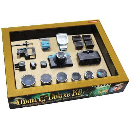 Buy film cameras - Lomography Diana F+ Deluxe Film Camera Kit