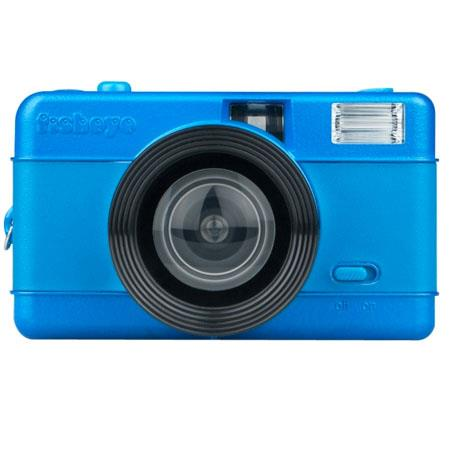Lomography FishEye Point-n-Shoot 35mm Camera, Blue - Special Limited Edition