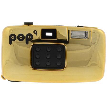 Lomography Pop Nine, 9 Lens 35mm Point & Shoot Camera with Flash, - Gold Color
