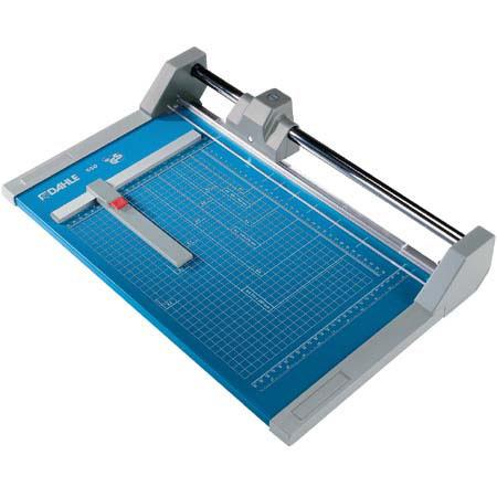 "Dahle 14-1/8"" Cut Professional Series, High Capacity Rolling Blade Rotary Trimmer image"