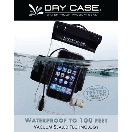 DryCASE Waterproof Phone, Camera and MP3 Case, Clear image