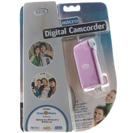 Digital Concepts Digital Camcorder with Built in Mictrophone - Pink image