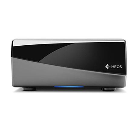 Denon HEOS Link Wireless Preamplifier, 20Hz-20kHz Frequency Response, Built-In Wi-Fi and Ethernet Connectivity, USB