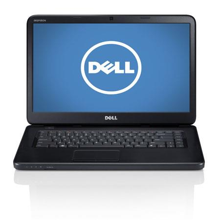 "Dell Inspiron 15 15.6"" Notebook Computer, Intel Pentium Dual-Core B960 2.2GHz, 4GB DDR3 RAM, 500GB HDD, Windows 8 Home Premium 64-bit, Black"