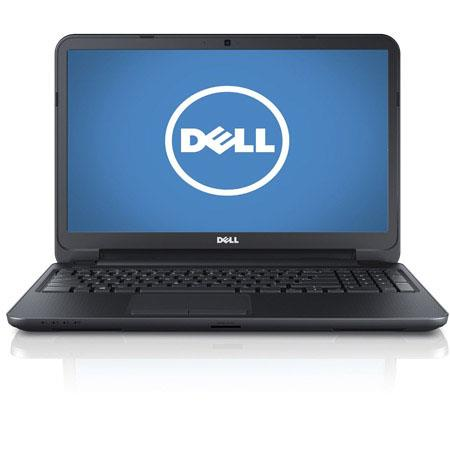 "Dell Inspiron 15 i15RV-1382BLK 15.6"" Notebook Computer, Intel Pentium 2127U 1.9GHz, 4GB RAM, 500GB HDD, Windows 8, Black"