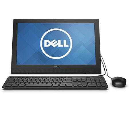 "Discount Electronics On Sale Dell Inspiron 19.5"" All-in-One Desktop Computer, Intel Celeron N2830 2.16GHz, 4GB RAM, 500GB HDD, Windows 8.1"