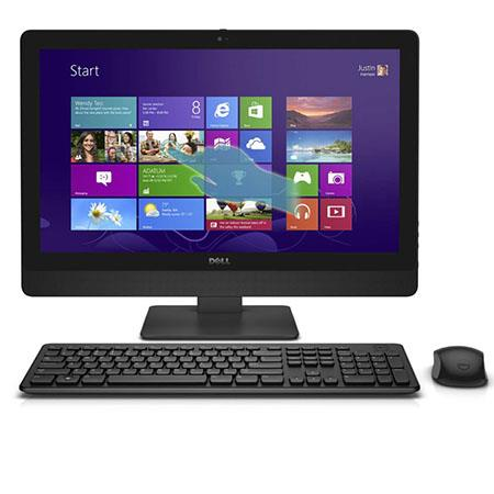 "Discount Electronics On Sale Dell Inspiron 5348 23"" Touchscreen All-in-One Desktop Computer, Intel Core i5-4460S 3.40Ghz, 8GB RAM, 1TB HDD, Windows 8.1"