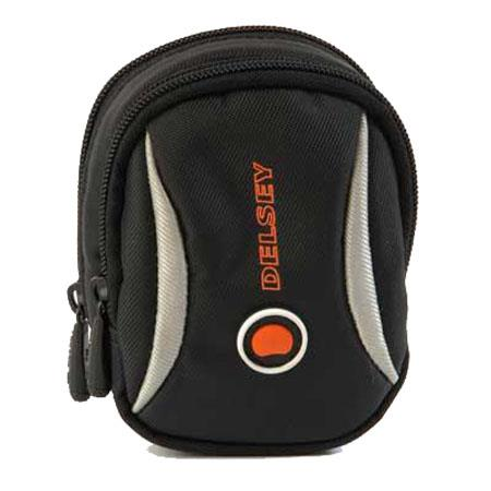 Delsy Rondo 12, Small Point-&-Shoot Camera Pouch - Black image