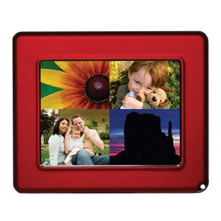"Digital Foci Pocket Album OLED - Portable Digital 2.8"" Viewer, Red"