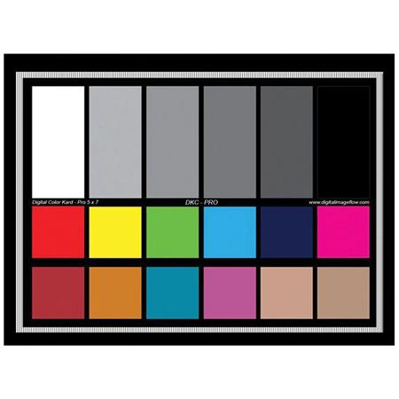 Digital Image Flow DGK Color Tools Multifunction Color Chart with White Balance and Exposure Tools