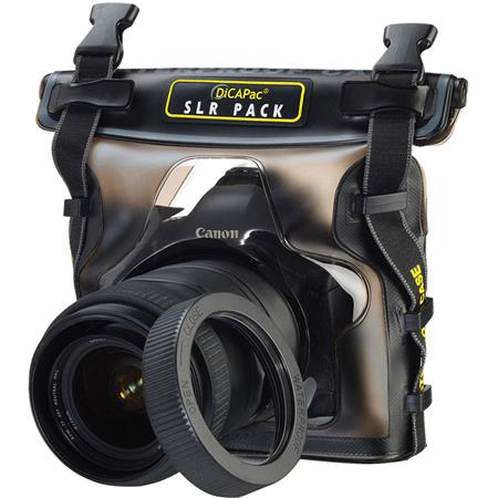 DiCAPac WPS10 Waterproof Case for SLR & DSLR's image