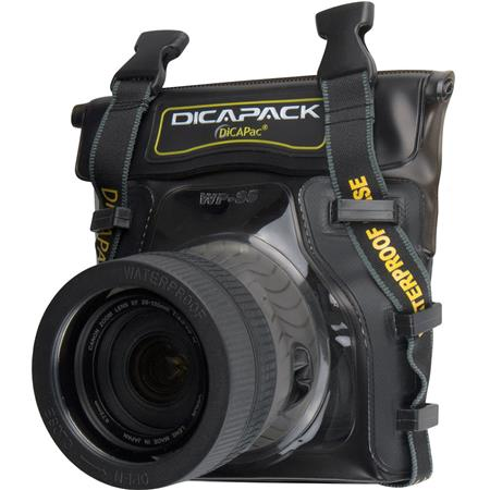 Dicapac WP-S5 Waterproof Case for Small SLR Digital Cameras image