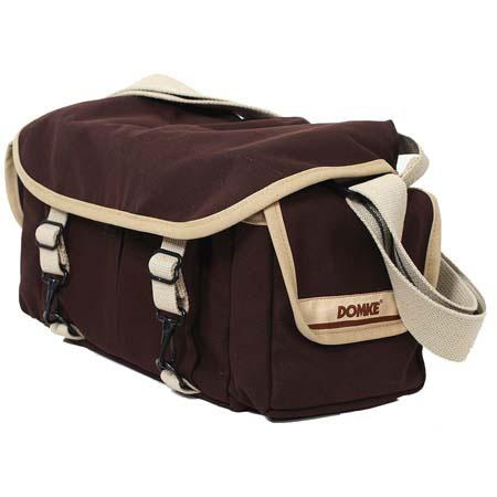 Domke F-2 Original Camera Bag, Canvas, Chocolate Brown image