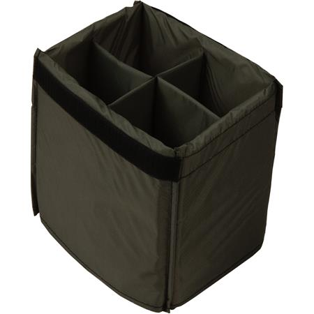 Domke FA-240 4-Compartment Padded Bag Insert, Gray. image