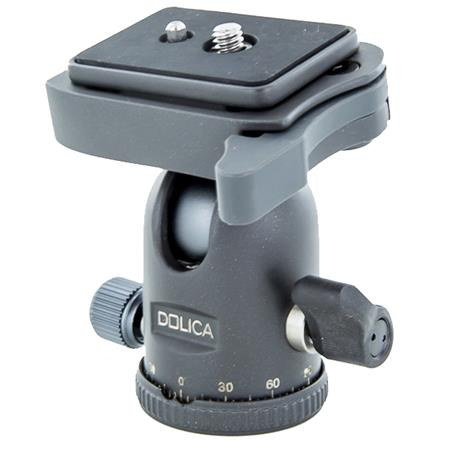 Dolica B220 Pro Level Ball Head with Quick Release - Capacity 10lbs