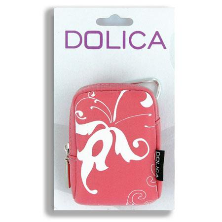 Dolica Designer Camera Case for Ultra-Slim Digital Cameras, Pink