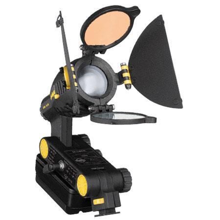 Dedolight 'LEDZilla' Mini LED Daylight/Tungsten Camera Light, Barn Doors, Filter  Diffuser - with Shoe for Sony mini DV Battery