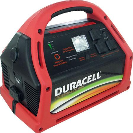 Duracell 600 Watt Powerpack 600 Jump Starter and Emergency Power Source