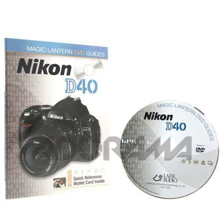 DVD: Magic Lantern DVD Guide for Nikon D40/D40x Digital SLR Cameras image