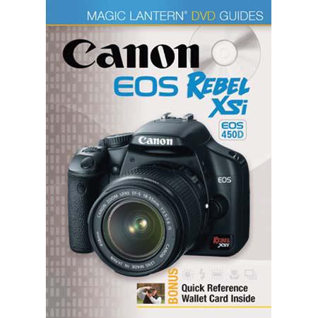 DVD: Magic Lantern DVD Guide for the Canon EOS Digital Rebel XSi/EOS 450D and REbel XS/EOS 1000D image