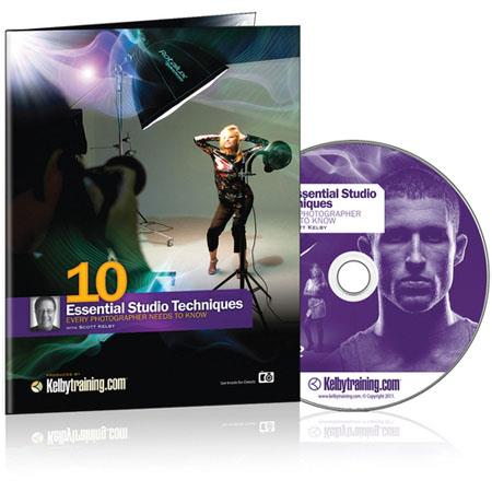 Kelby Training DVD: 10 Essential Studio Techniques Every Photographer Needs to Know by Scott Kelby