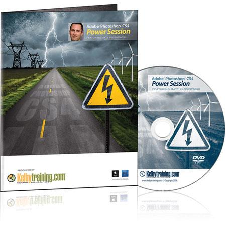 Kelby Training DVD: Adobe Photoshop CS4 Power Session By Matt Kloskowski